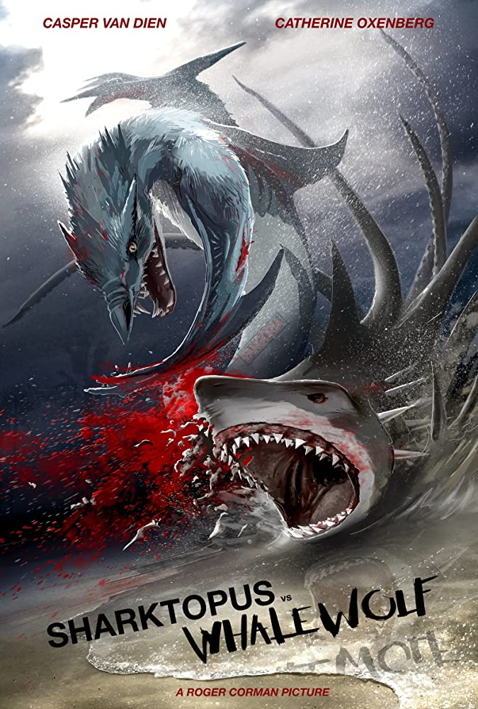 When a mad scientist mixes the genes of a killer whale and a wolf, it creates the Whalewolf, and it's up to Sharktopus to stop it.