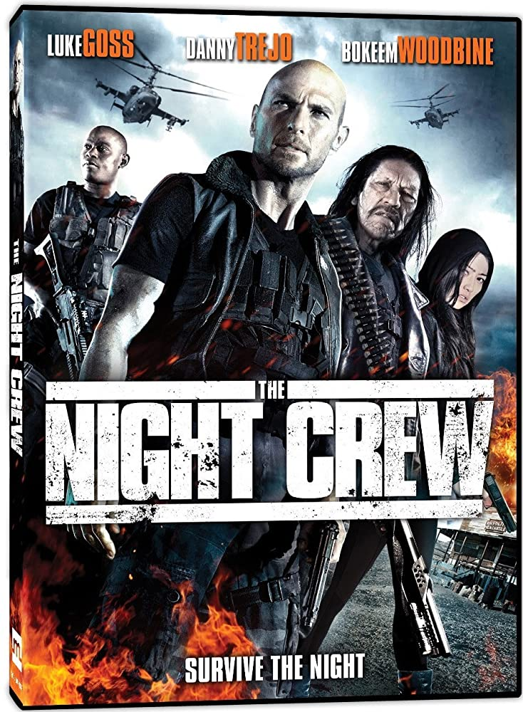 A group of hard-up bounty hunters must survive the night in a desert motel against a horde of savage cartel killers as they realize their fugitive, a mysterious Chinese woman, is much more than she lets on.